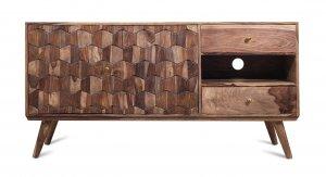 Vintage Massivholz Sideboard Lowboard Akazie 160x80x40cm