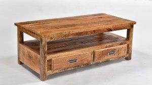 Mango Möbel Couchtisch 110x45x60cm Massiv