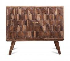 Vintage Massivholz Sideboard Akazie 95x80x40cm