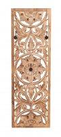 Vintage Massivholz Möbel Garderobe 35x110x9cm