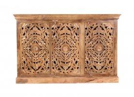 Vintage Massivholz Möbel Sideboard 140x90x40cm