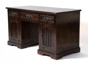 Kolonial Möbel Schreibtisch 150x78x60cm Massiv